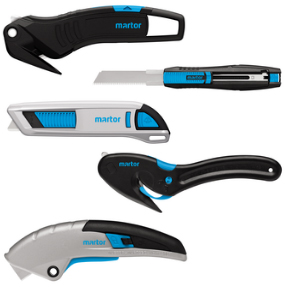 Martor safety knives and cutters